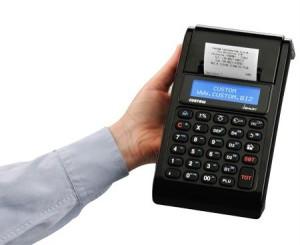 Registratore di cassa per commercio ambulante Custom JSMART